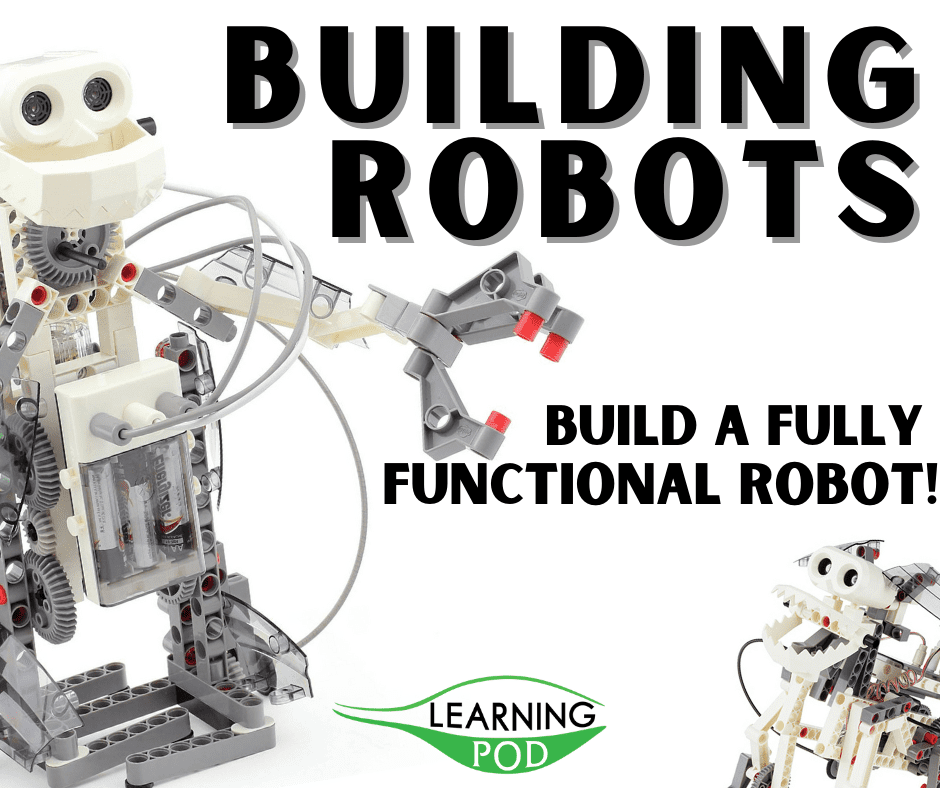 Build Robots Learning Pod school holidays