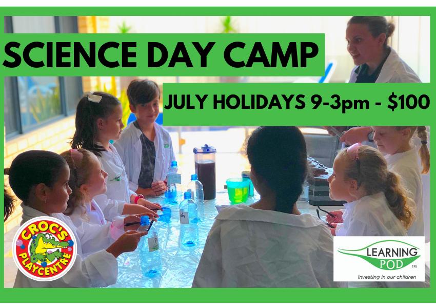 Science day camp CROCS